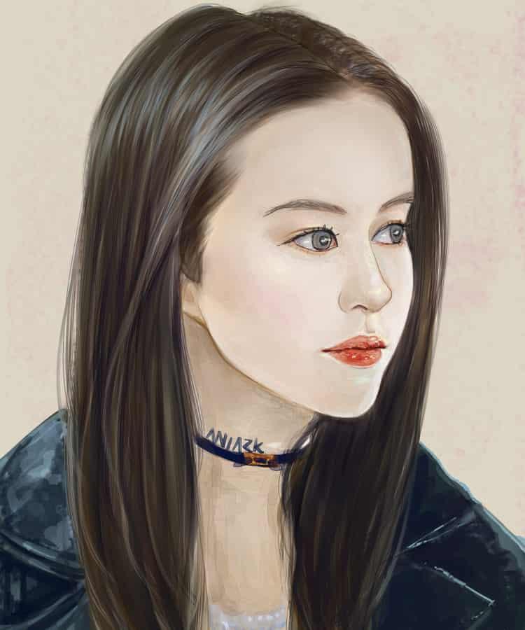LiuYiFei Illust of aNiark 劉亦菲 portrait aniark mulan LiuYiFei