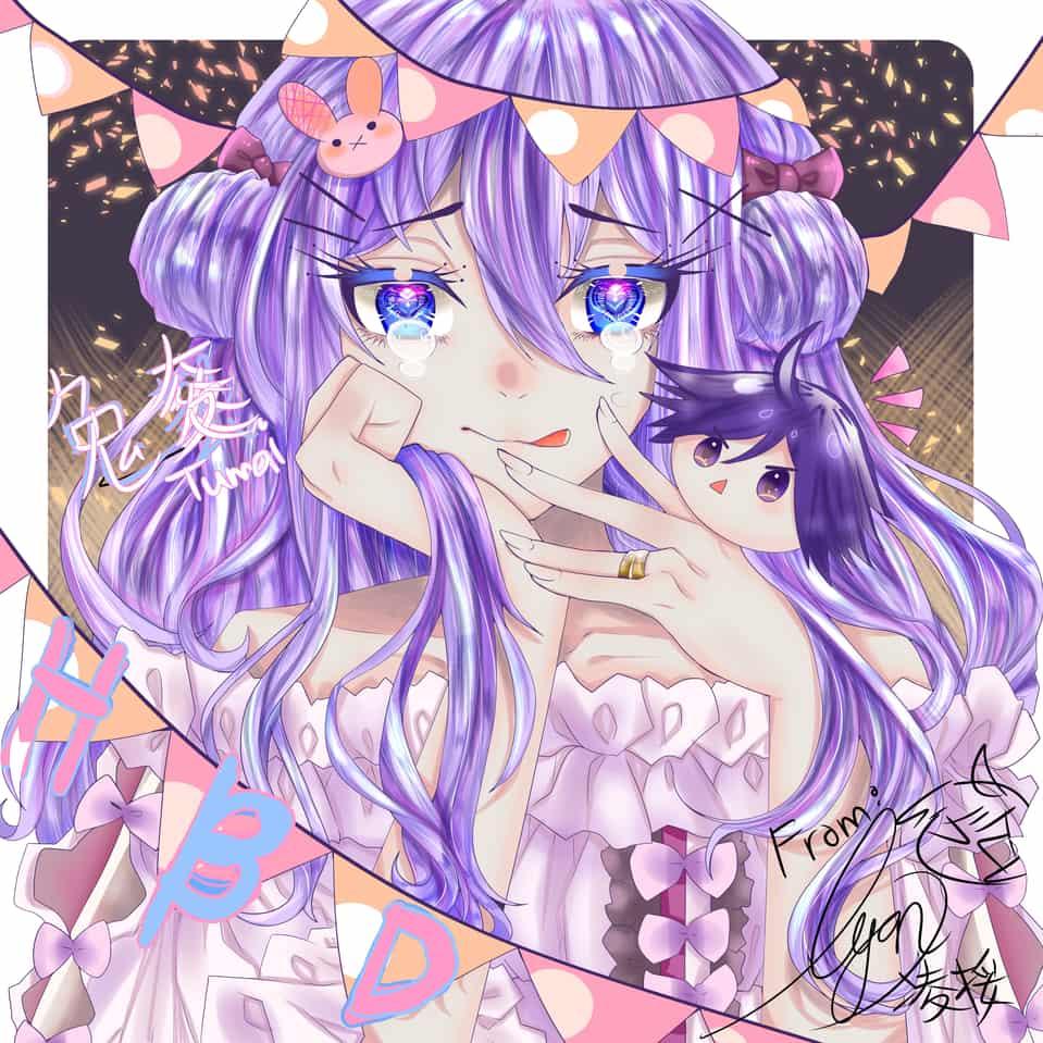 Illust of Rinsa凌桵 朋友生日卡