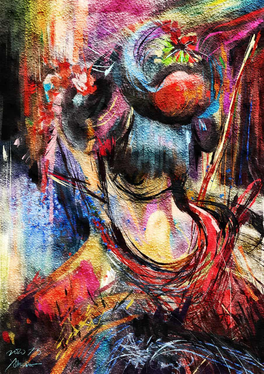 藝妓 Illust of Yang Nan June2020_Contest:Street_Art 街頭塗鴉 抽象