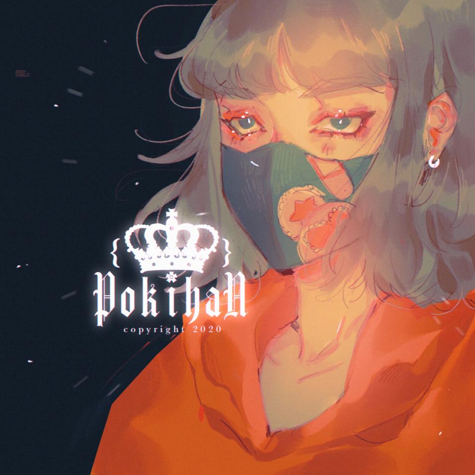 Animation meme suggestions? Illust of poki.han angry portrait girl anime Mask