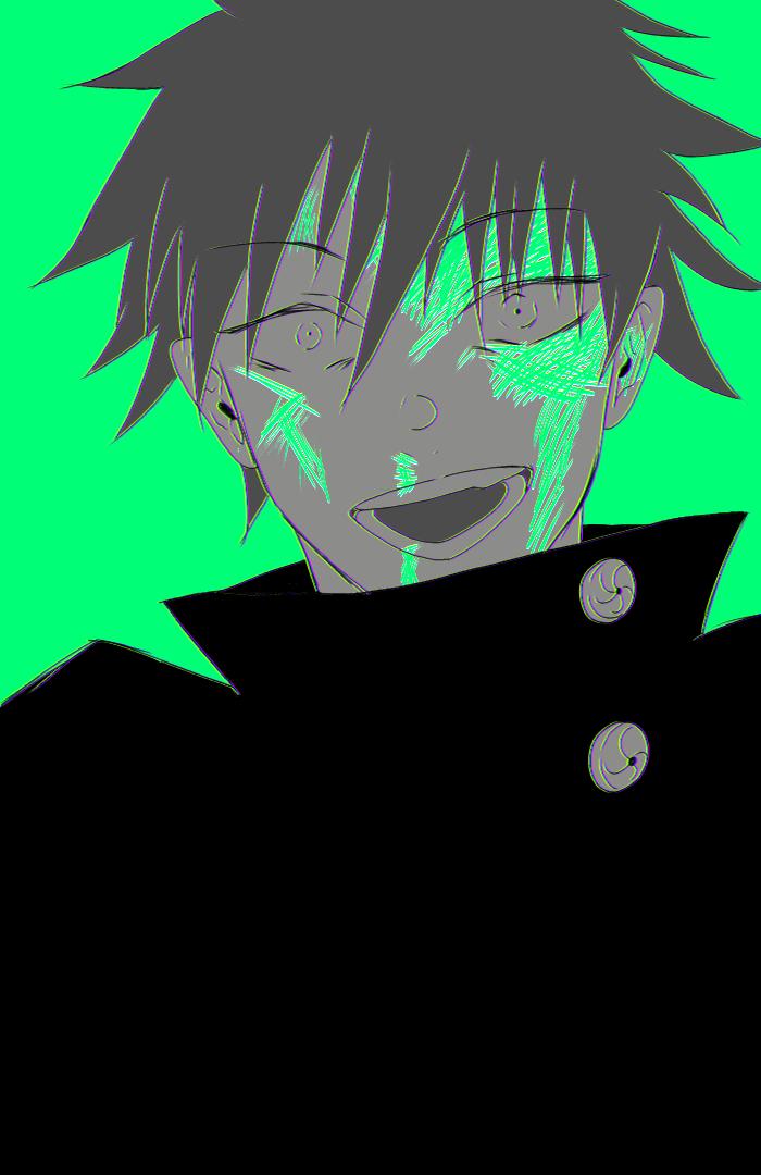 「そんなに言うならやってやるよ」 Illust of 巌 えん JujutsuKaisen Megumi_Fushiguro