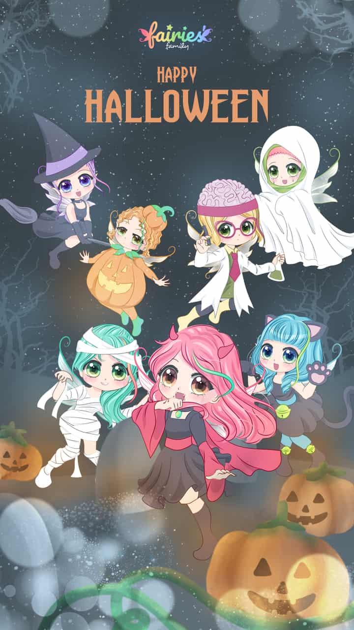 Fairies' Family - Halloween Party