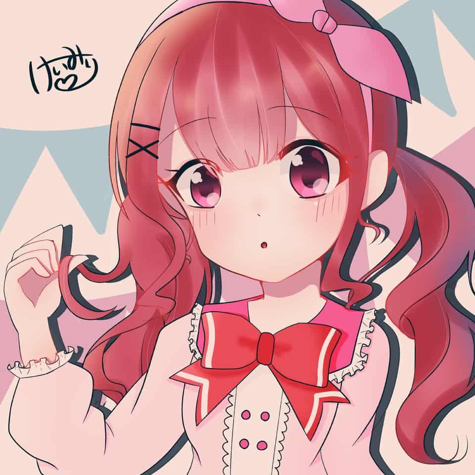 女の子 ピンク Illust of けいみり medibangpaint girl pink