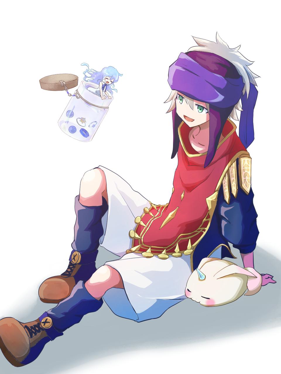 日常 Illust of 水月ルゼ medibangpaint fanfic メルスト boy girl メルクストーリア