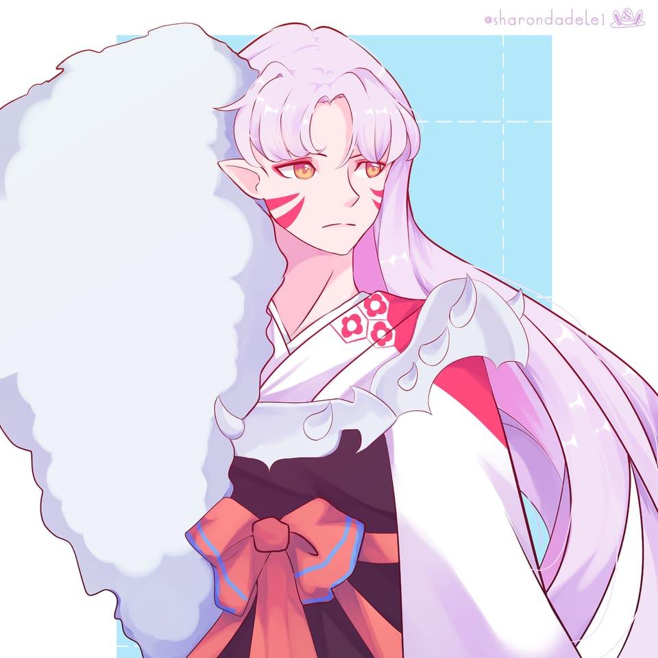 Sesshomaru ( Inuyasha ) Illust of SharonDa12 Inuyasha drawing animeboy anime sesshomaru