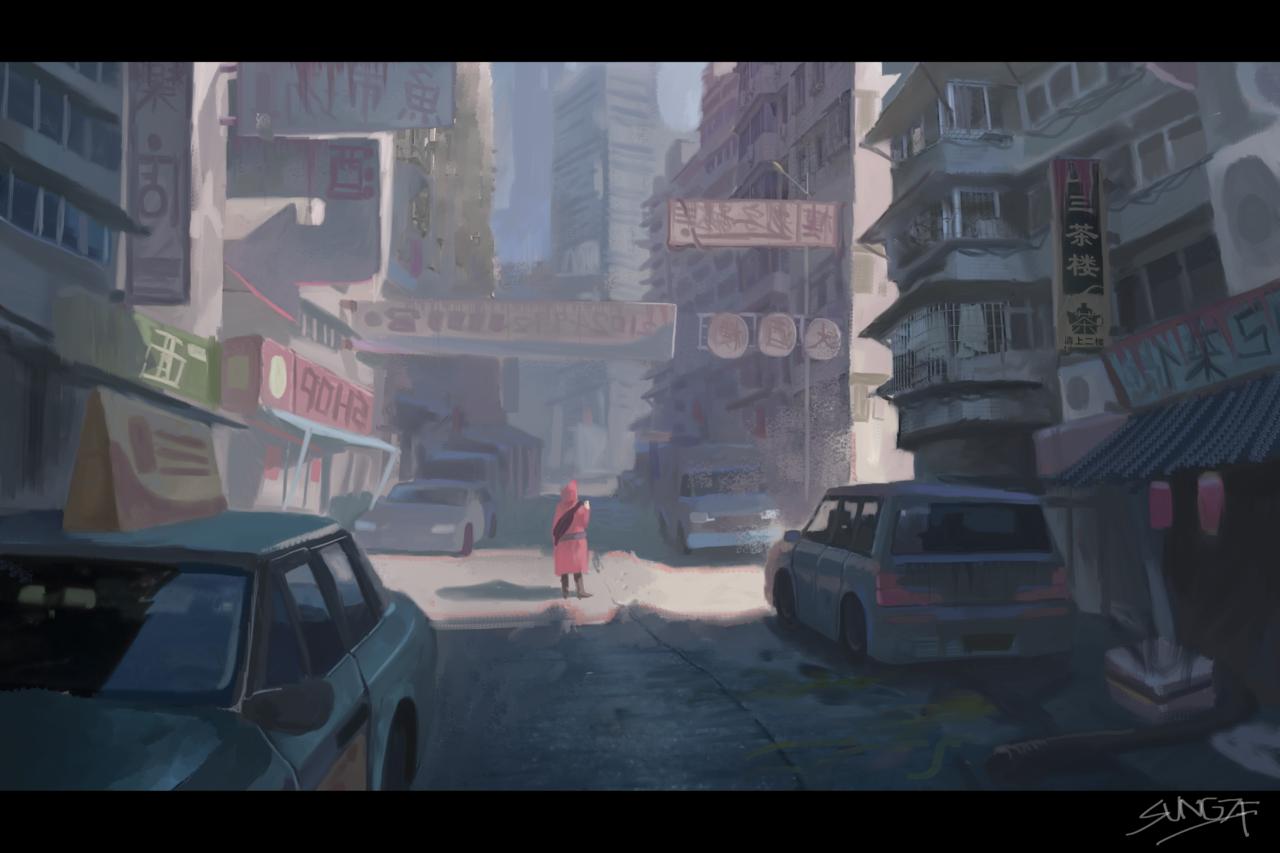 城市 Illust of SUN6ZF medibangpaint
