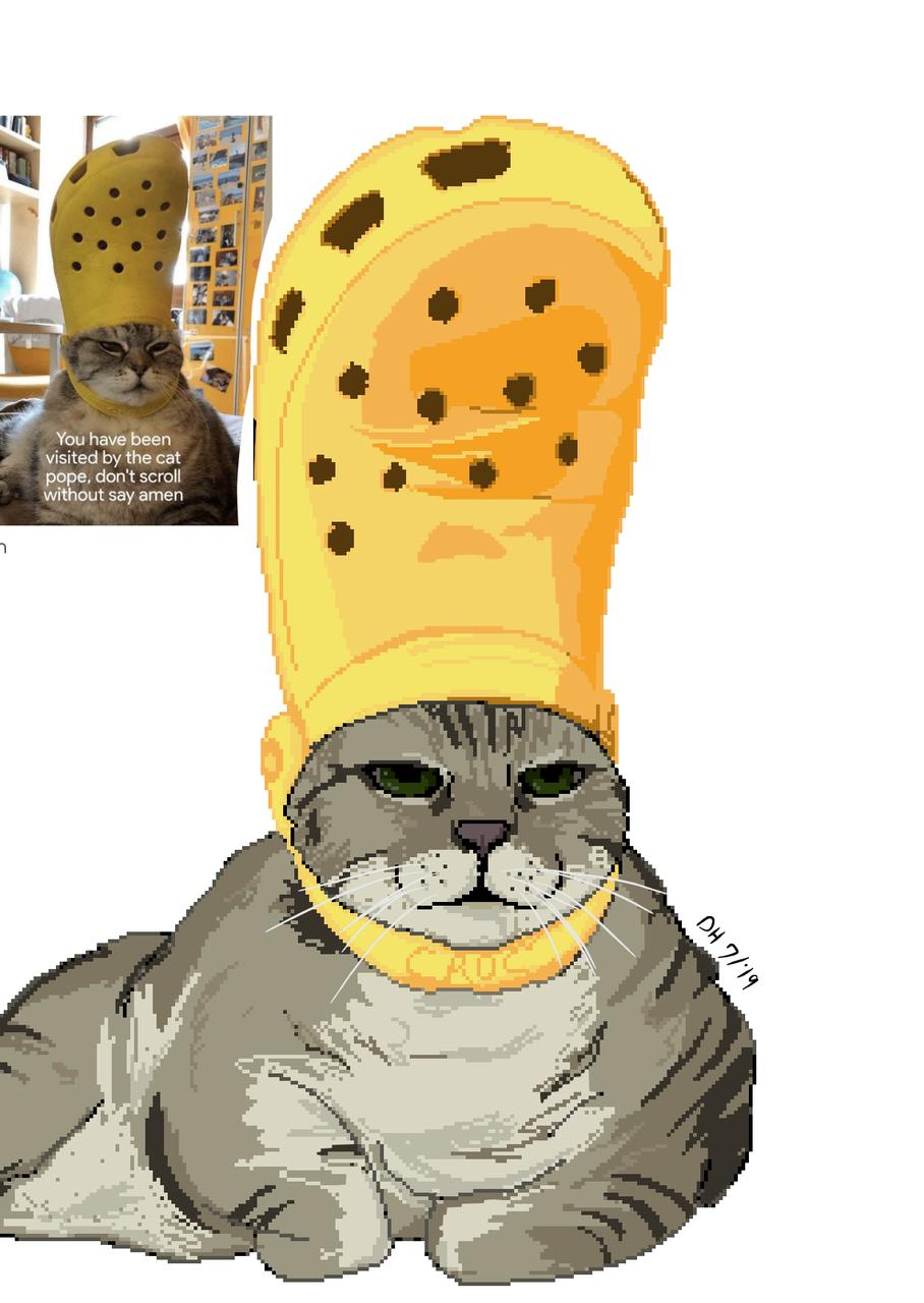 Pope cat!
