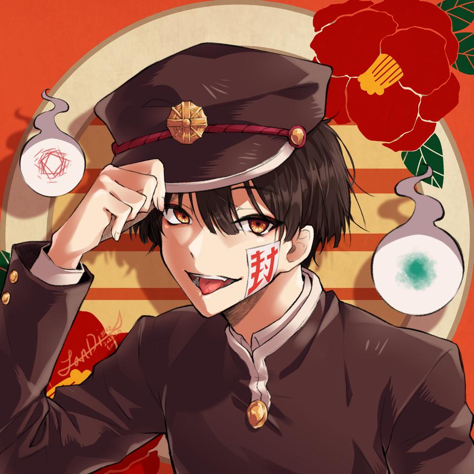 하나코군 Illust of 잔디풀 medibangpaint Toilet-boundHanako-kun