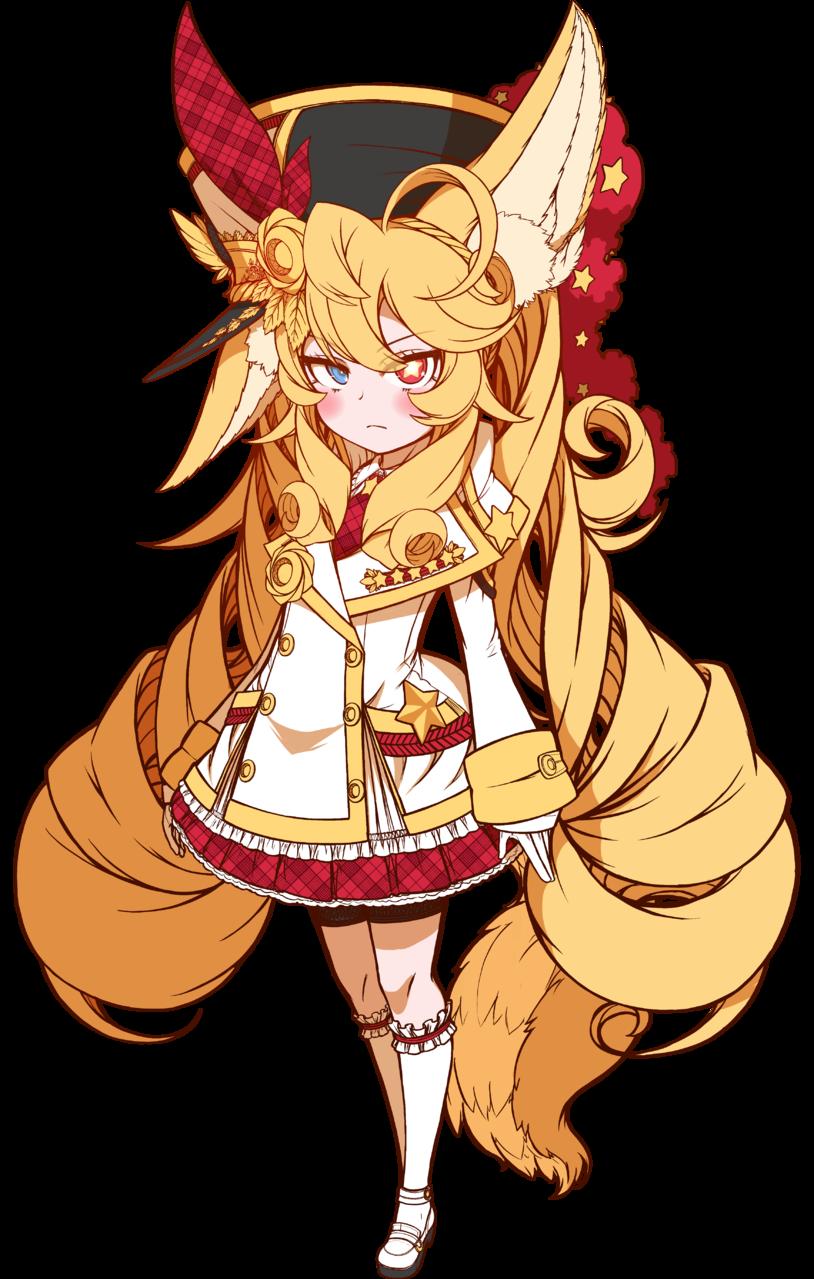 001-Ferona Glaysha  Illust of DisCat DisCat original blonde girl oc animal_ears