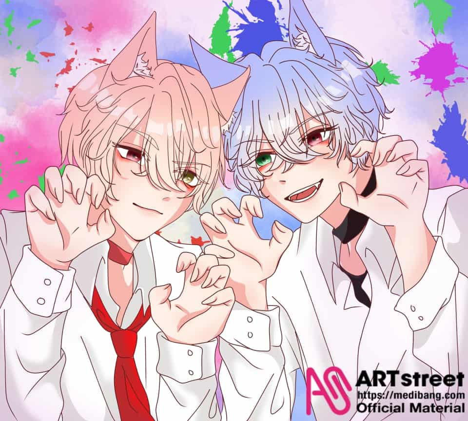 are we scary enough?? Illust of Rarara_1301 tracedrawing3rd Trace&Draw【Official】