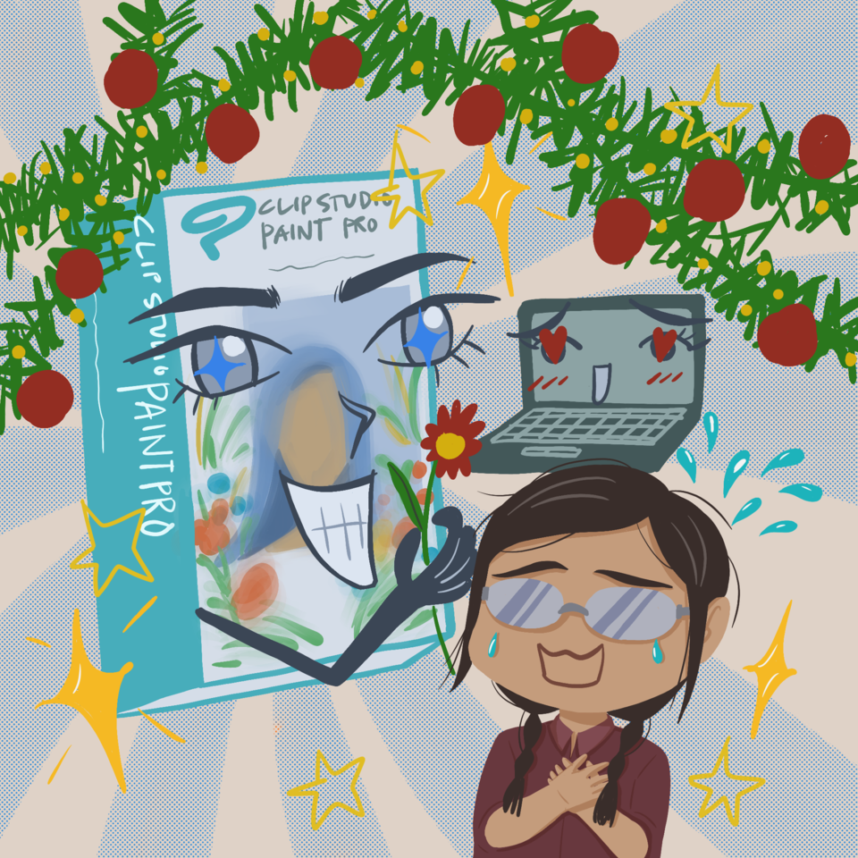 Clip Studio Paint Pro Illust of ハウル giftyouwant2020:10000YenGift giftyouwant2020 Christmas