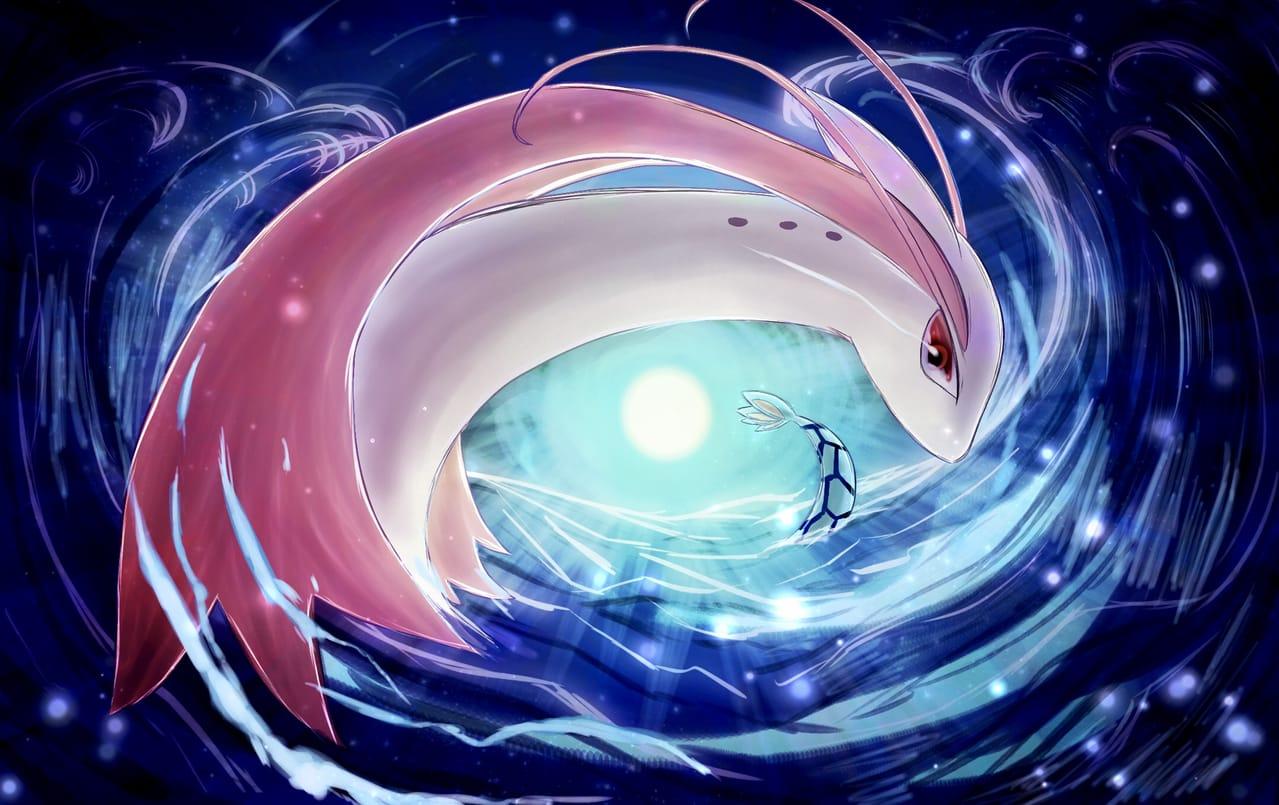 ミロカロスの日 Illust of 88里 ミロカロスの日 pokemon ミロカロス