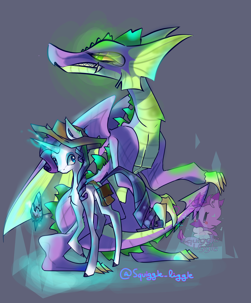 Fanmade Future Rarity and Spike