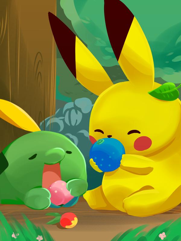 Illust of hmk medibangpaint Pikachu pokemon