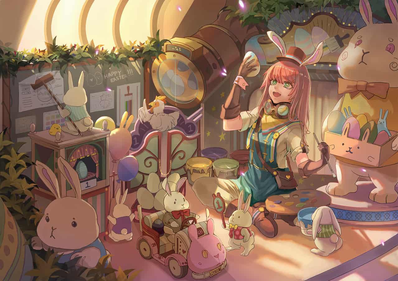 復活蛋工場 Illust of OneTara/壹魚 March.2020Contest:Easter