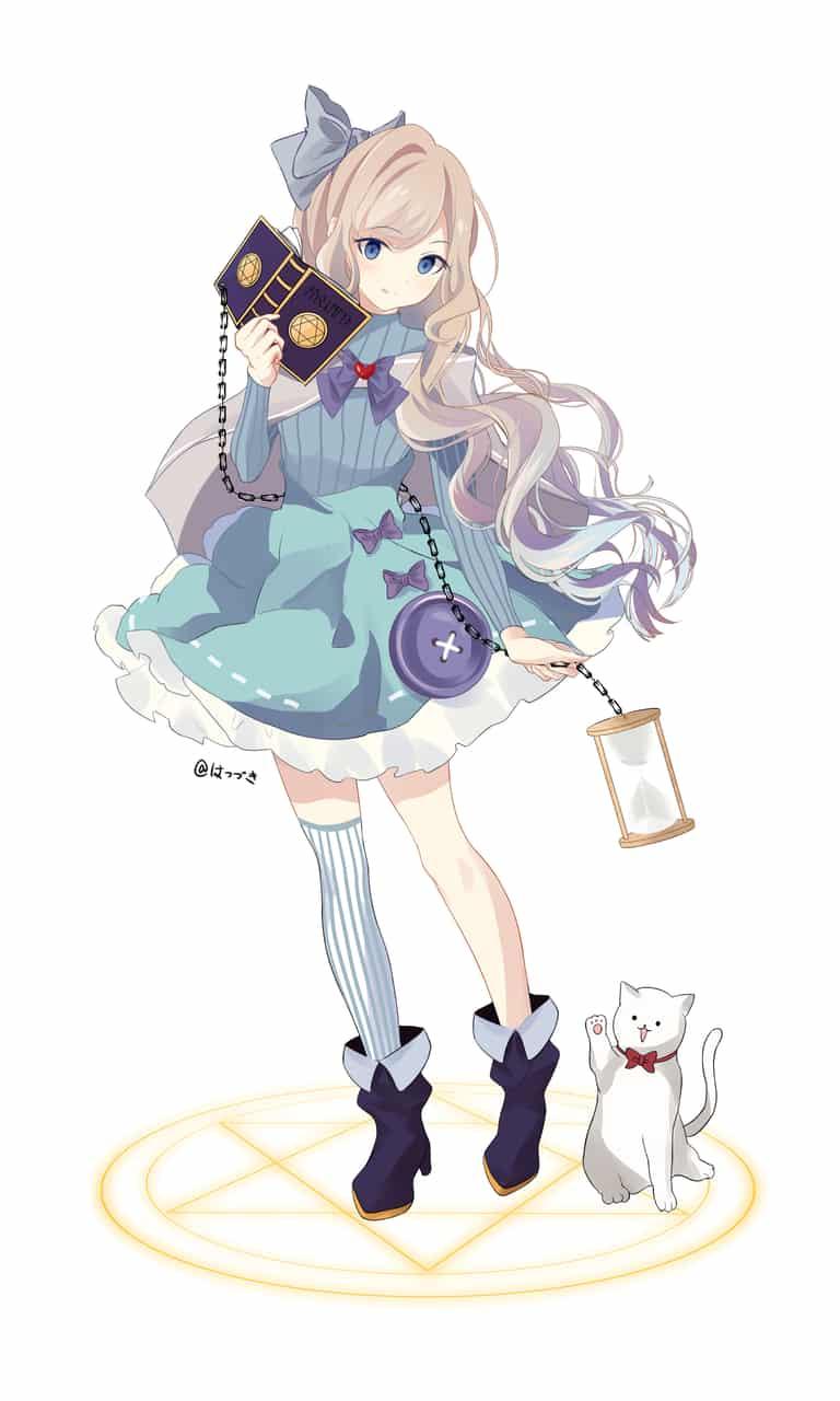 ナナエ Illust of はつづき 魔法少女 original
