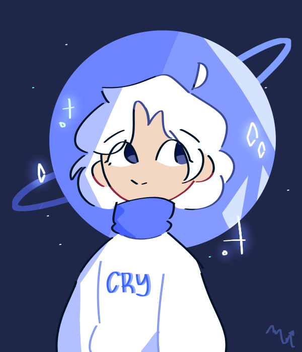 Entry for Crying Space's contest Illust of MochiiNiko medibangpaint