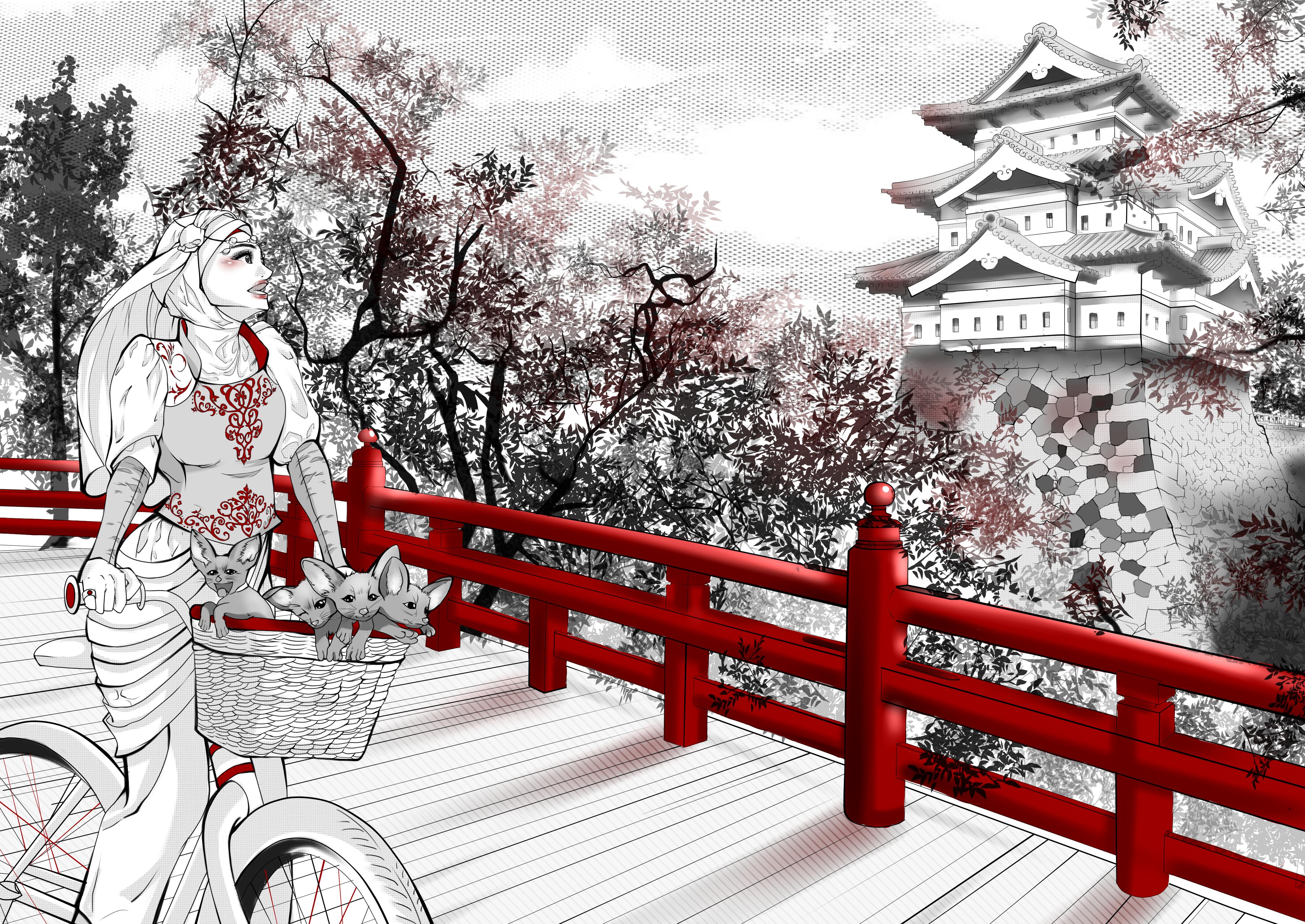 Hakima/Red Bridge _ An Algiers-Kumamoto friendship