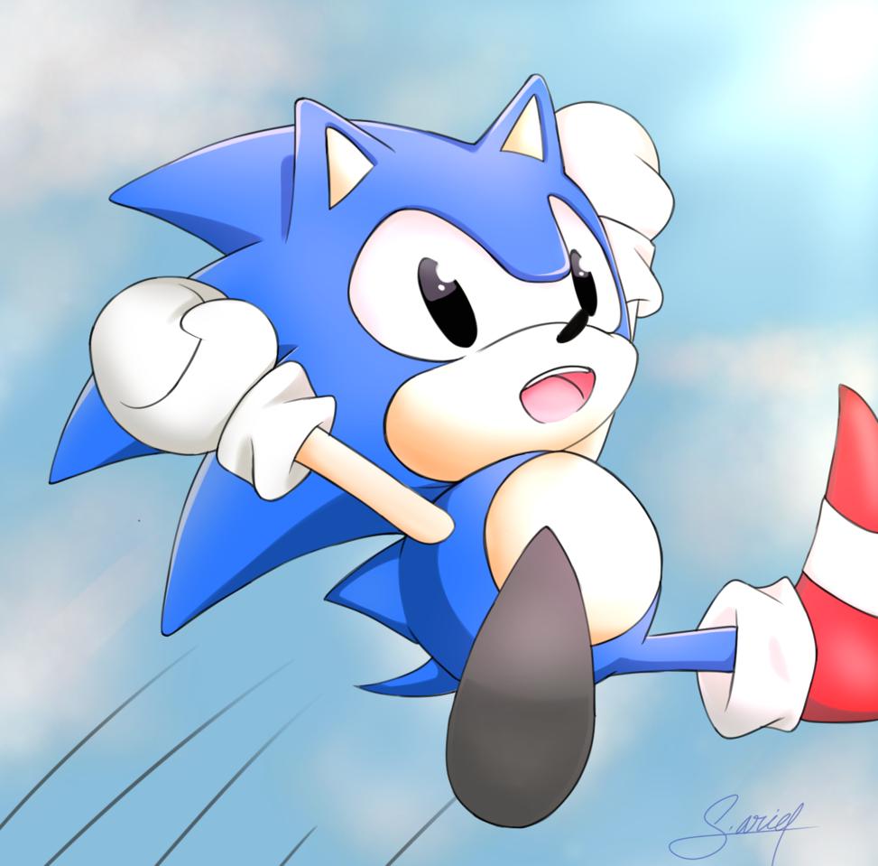 Classic Sonic Fan Art S Ariel Illustrations Art Street
