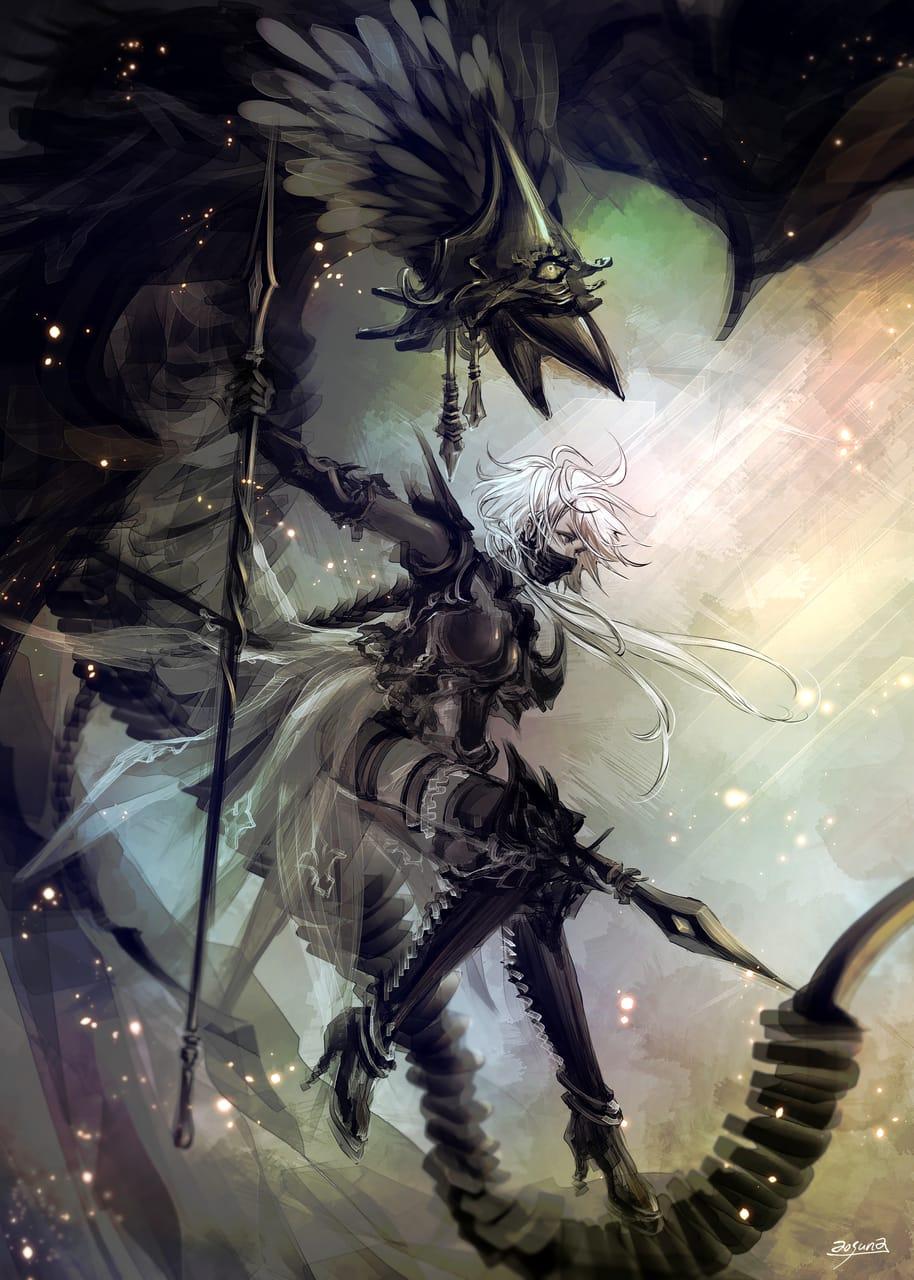 槍使い Illust of 青砂時計 February2021_Fantasy ファンタジーキャラ original oc