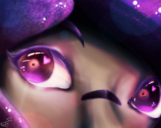 S q u i d y Illust of TinyCY Original_Illustration_Contest eyes medibangpaint Squidy oc