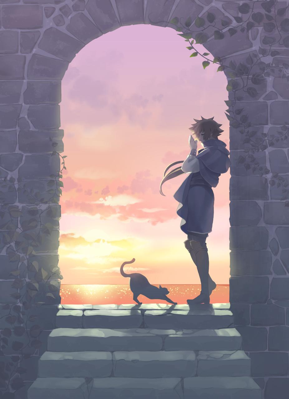 平穏な夕暮れ時 Illust of カイセイ fantasy oc original