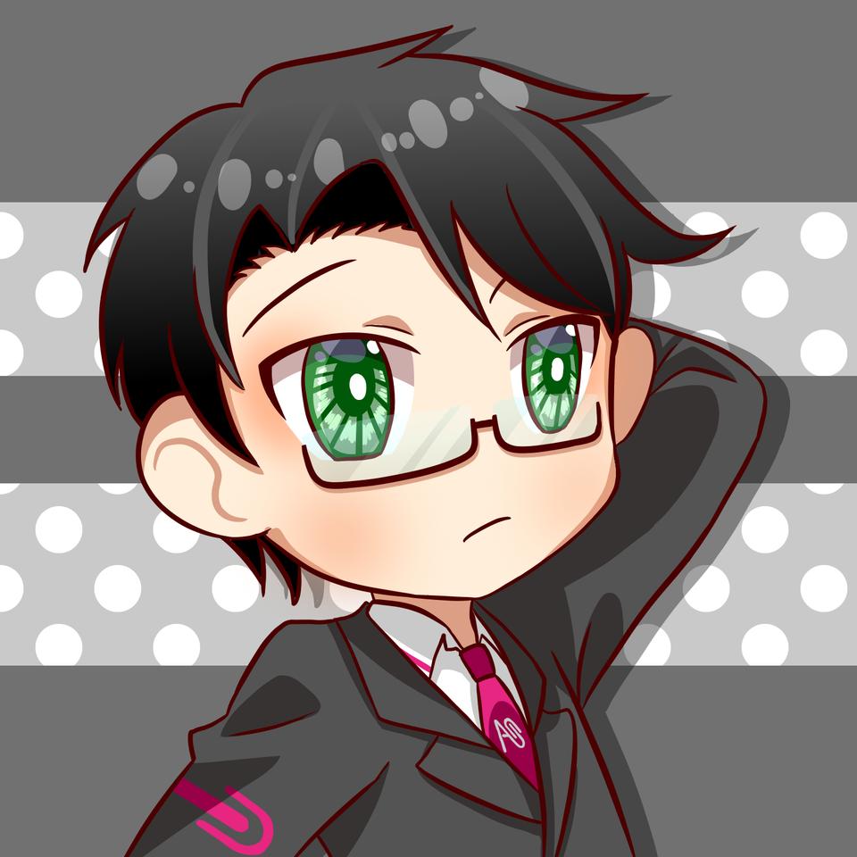 Free Profile Pics !! Illust of 黒や freeprofilepic animegirl anime animeboy chibi