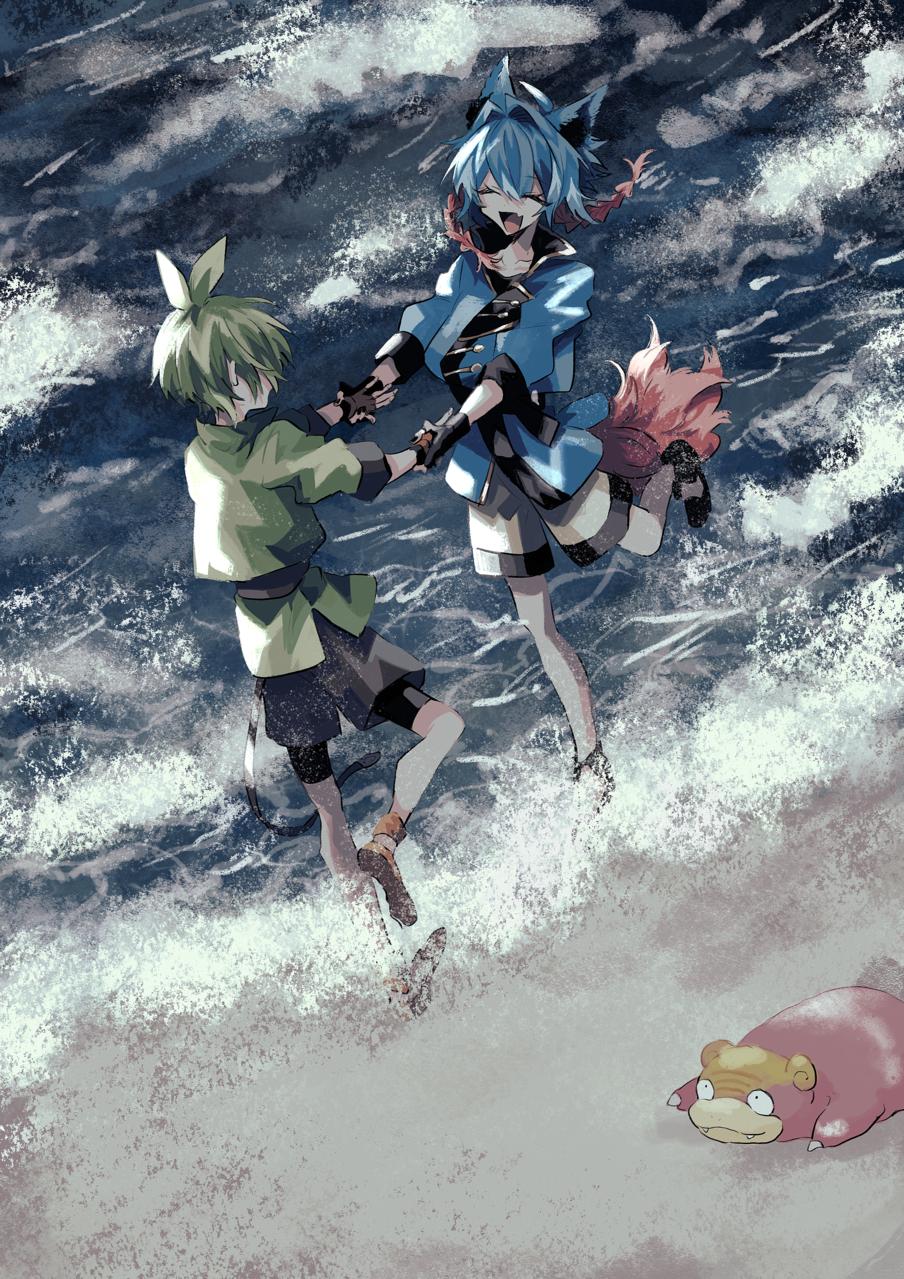 一礼野原 Illust of inue medibangpaint sea pokemon