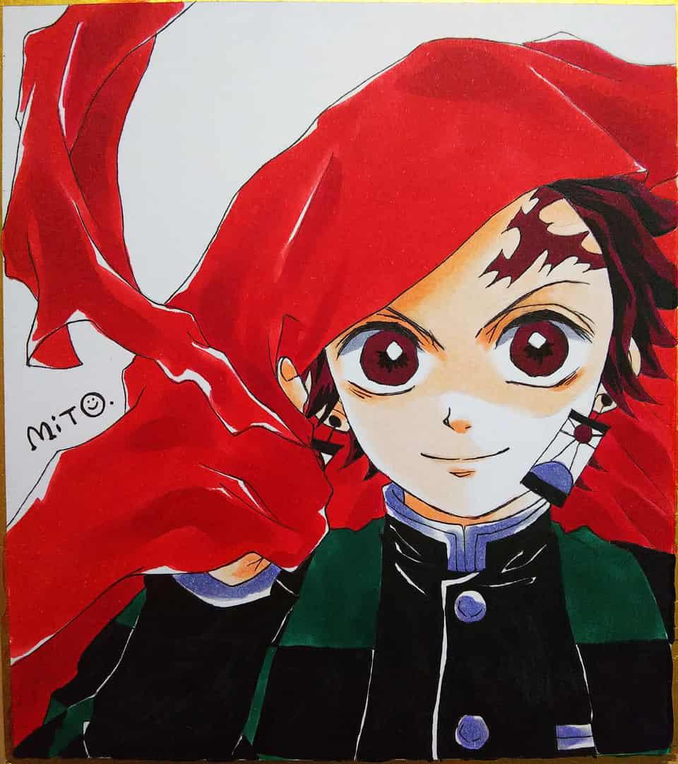 炭治郎の紅蓮華。 Illust of ミト DemonSlayerFanartContest KimetsunoYaiba KamadoTanjirou