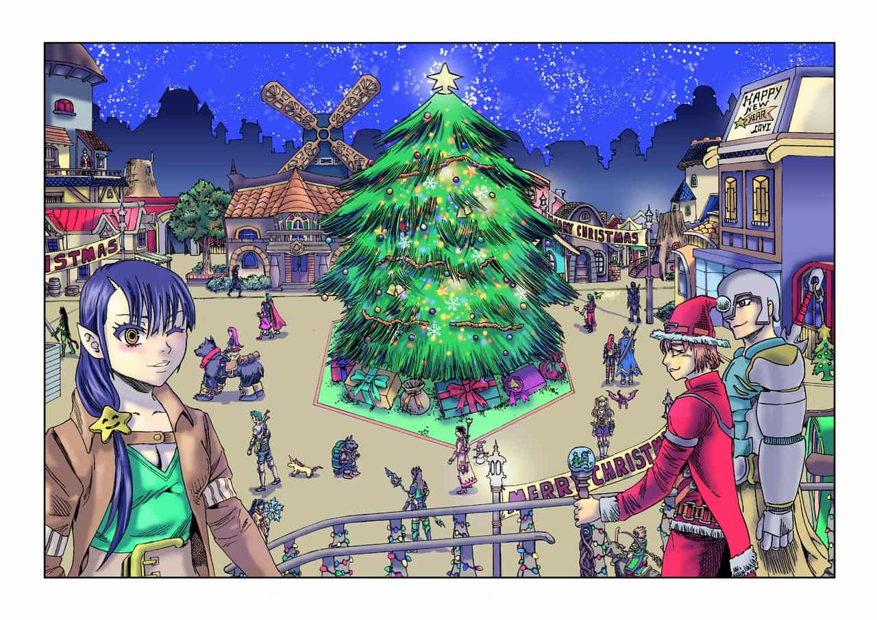 Fantasy World Christmas Quest: Missing Santa Claus Illust of 平和 大地 (Hirawa Daichi) dec.2019Contest