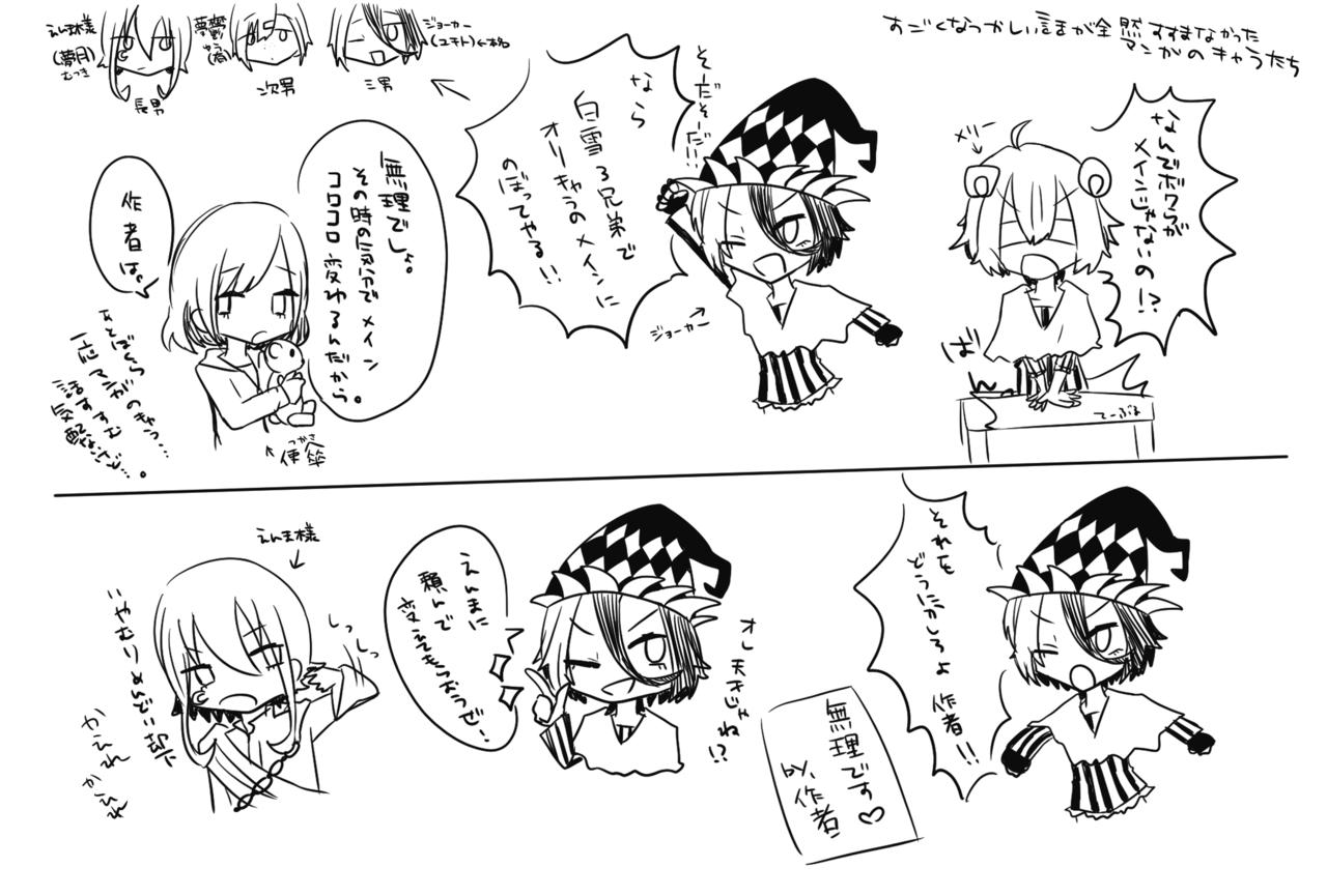 ☆らくがき☆ Illust of 墨野 蒼 oc キャラ崩壊