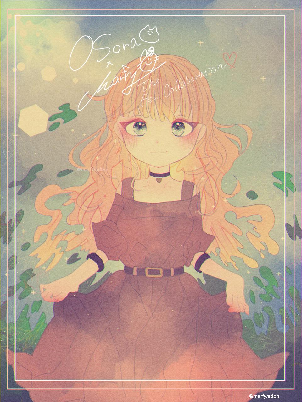 【Collab】OSora×Marfy Illust of Marfy collab girl Osora kawaii OSora
