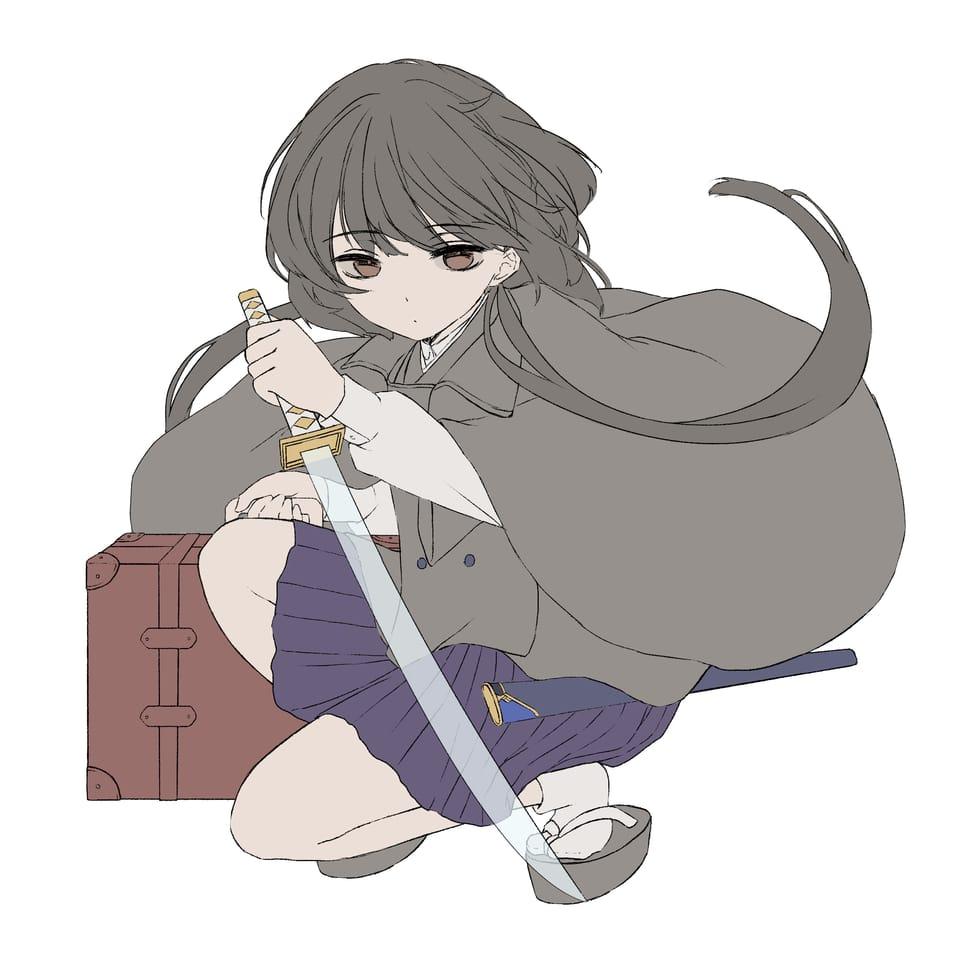 終焉逃避行 Illust of 雪喵 illustration fanfic girl