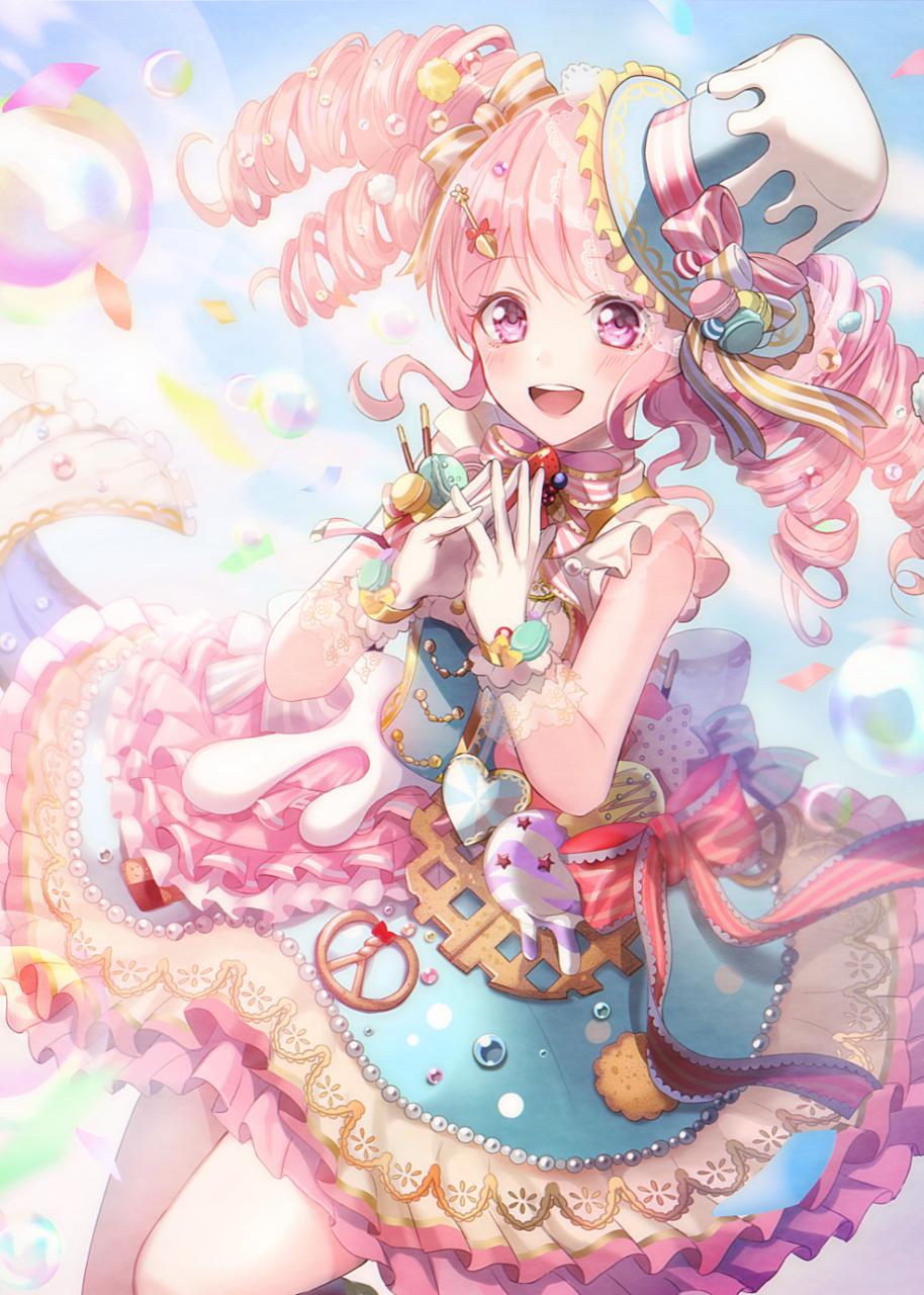彩ちゃん Illust of onk 丸山彩 pink BanG_Dream! medibangpaint