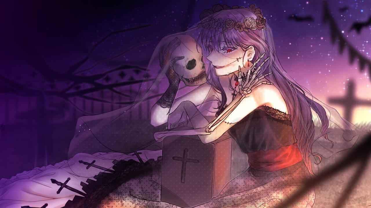 花火🎃🧟♀️ Illust of 그쉬 | グッシュ geuswi medibangpaint 骸骨