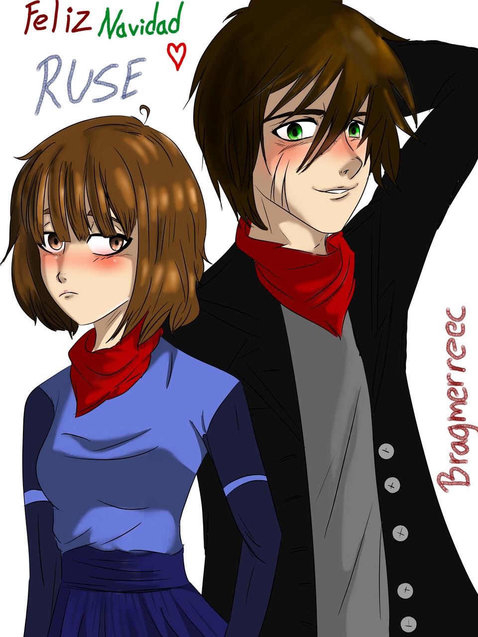 dibujo con RUSE