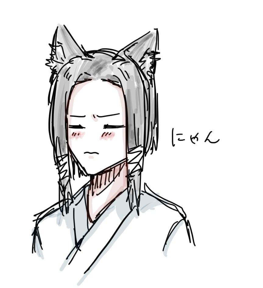 かも Illust of トラバント 加茂憲紀 animal_ears JujutsuKaisen