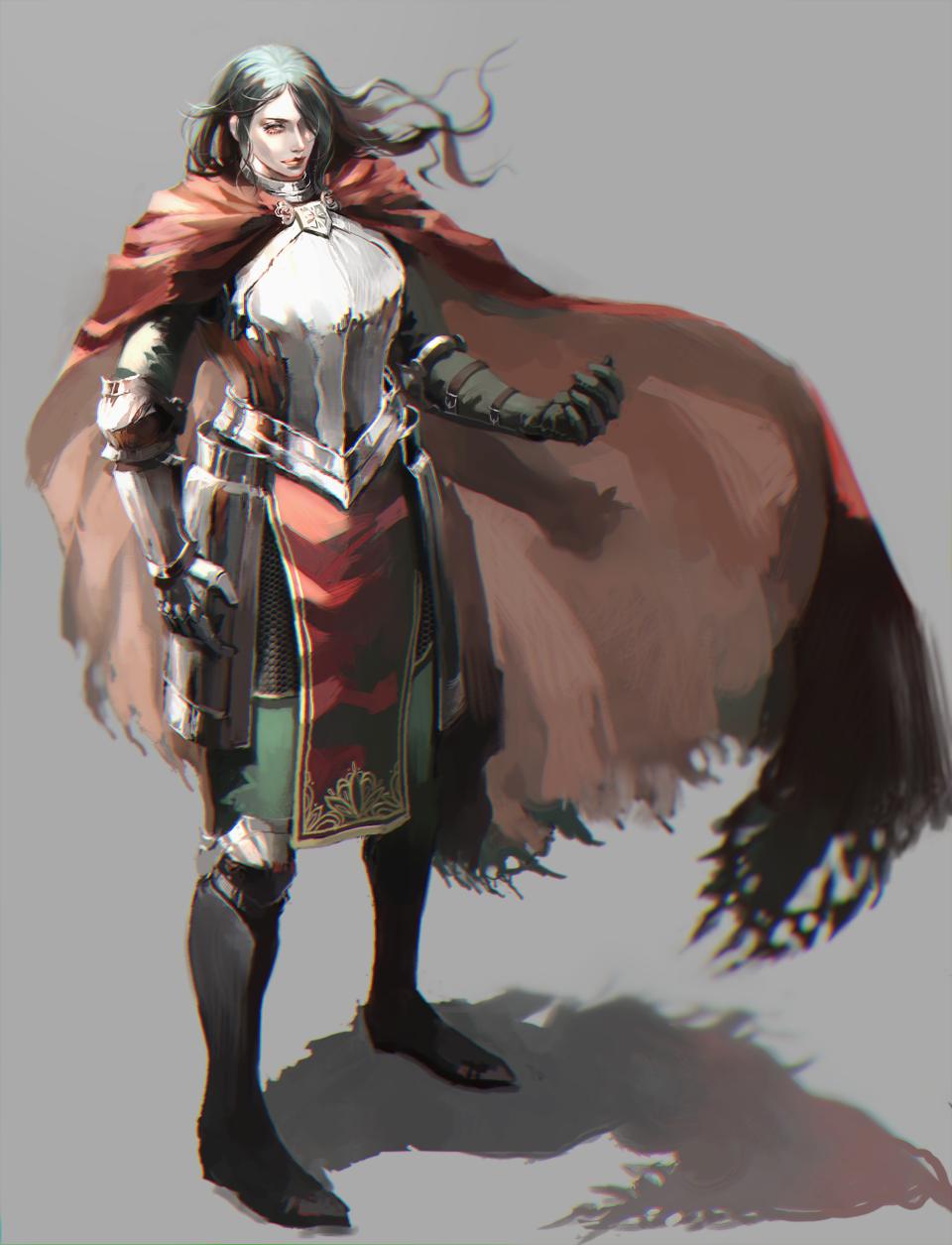 謎甲冑のおっさん Illust of 今川ムキムキファービー medibangpaint impasto 青年 original 騎士