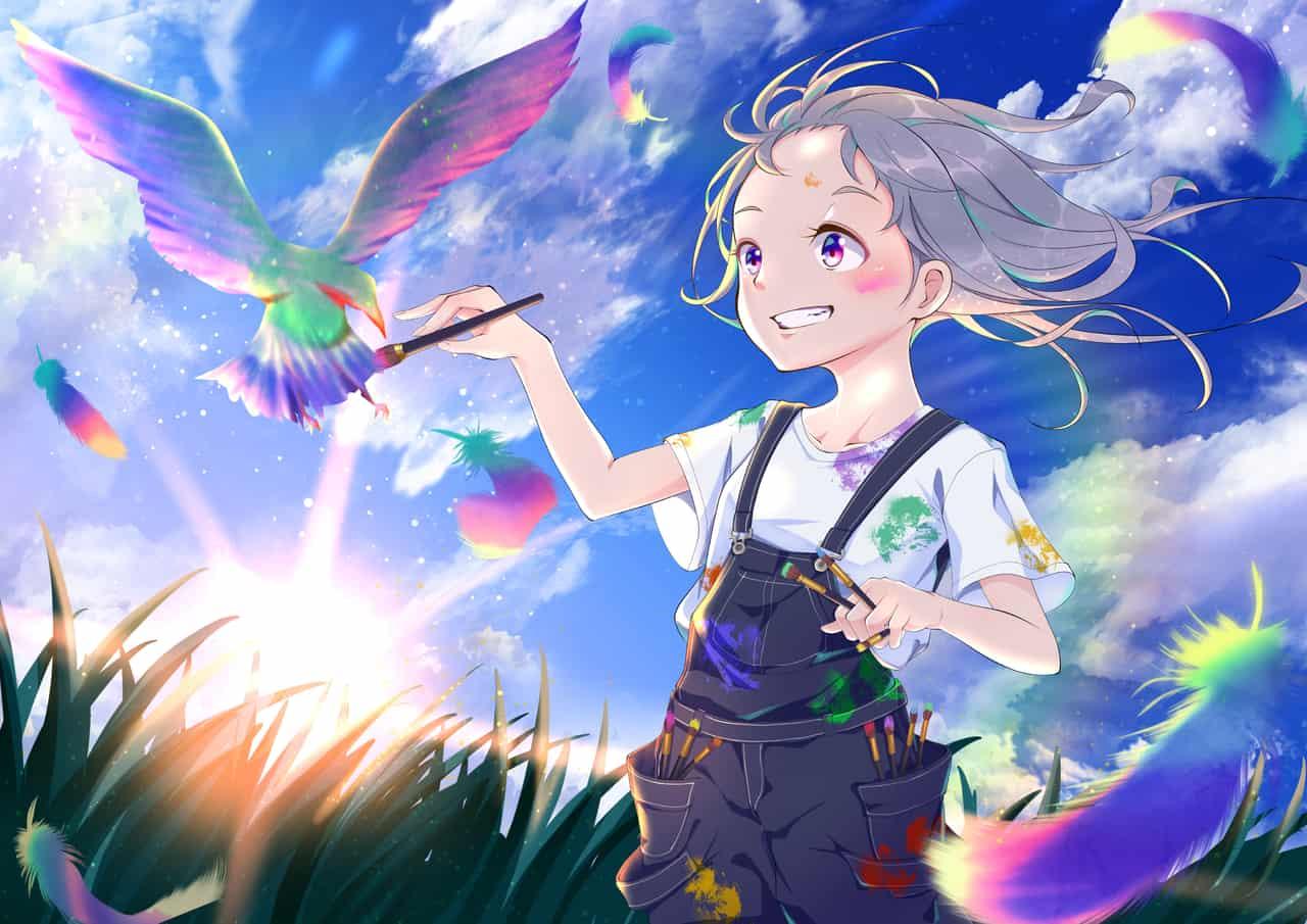 夢描夢中 Illust of 山中梅 Original_Illustration_Contest お絵描き カラー colorful girl