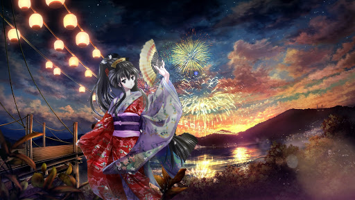 Festival Illust of Kitsuki Ryuumi Kyoto_Award2020_illustration