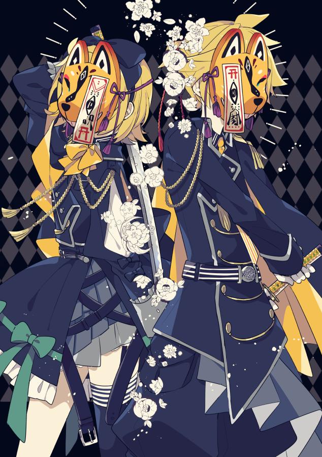 狐面 Illust of 由杞