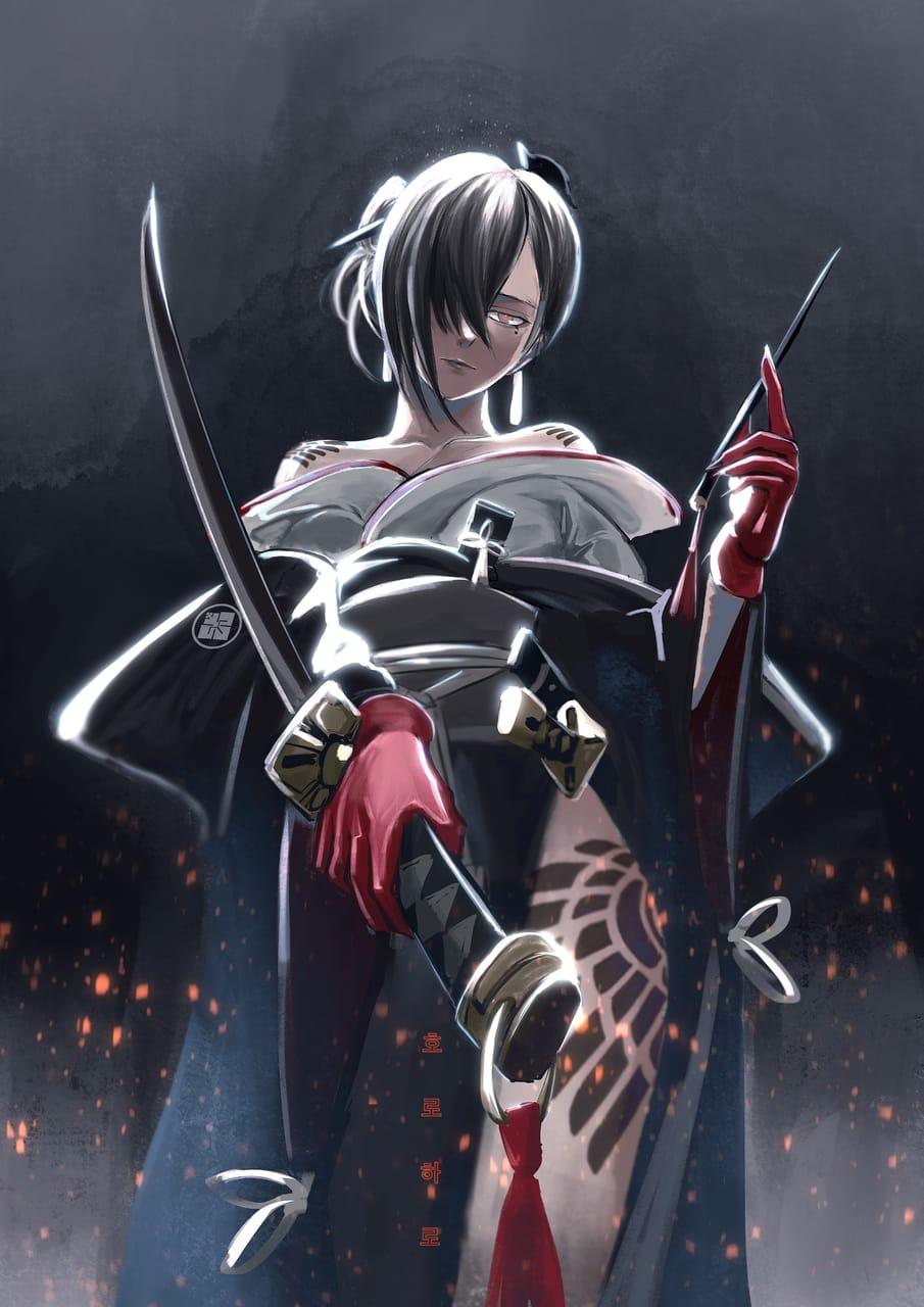 『暗殺者』 Illust of horoharo horoharo girl nierreincarnation 2021