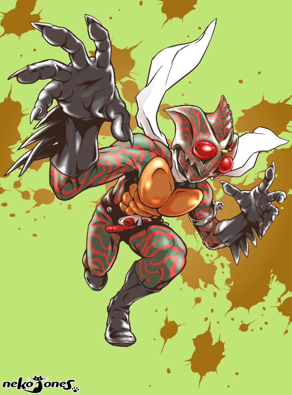 仮面ライダーアマゾン Illust of neko-jones アマゾン KamenRider 岡崎徹 仮面ライダーアマゾンズ