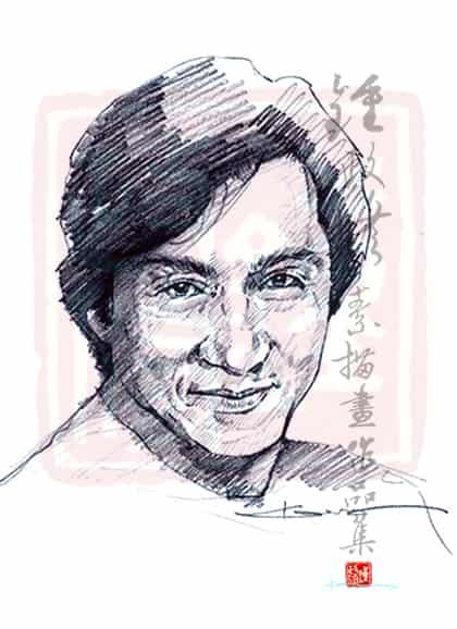 練筆觸的鉛筆畫 Pencil drawing Illust of kennychung