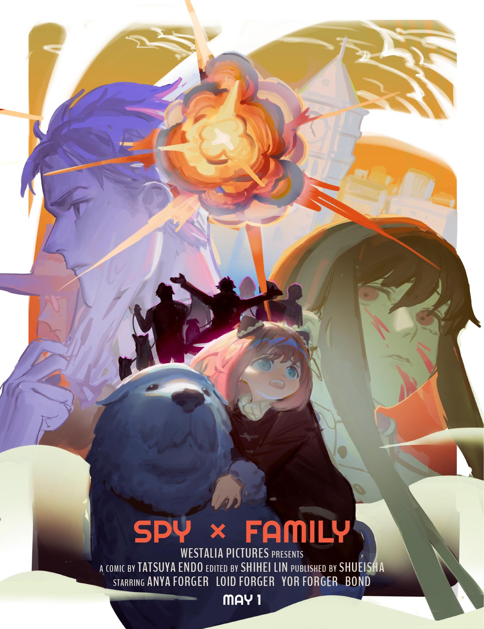 SPY×FAMILY Movie Poster/nonaneva