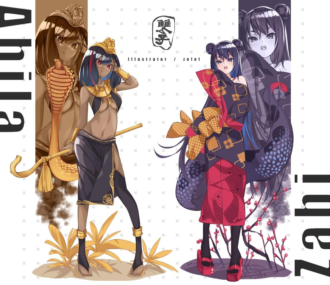 立繪 Illust of 我是小鸚啾啾啾 kimono