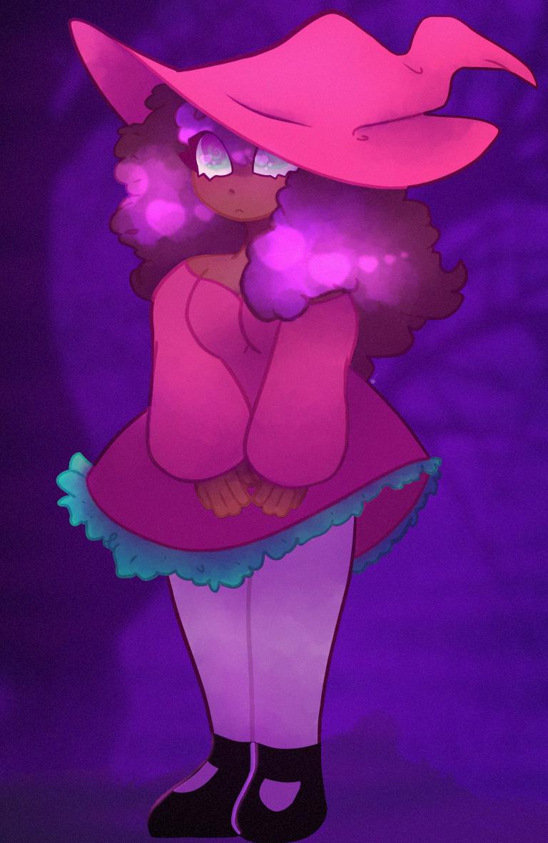 Millie! Illust of Custard lgbtq witch oc