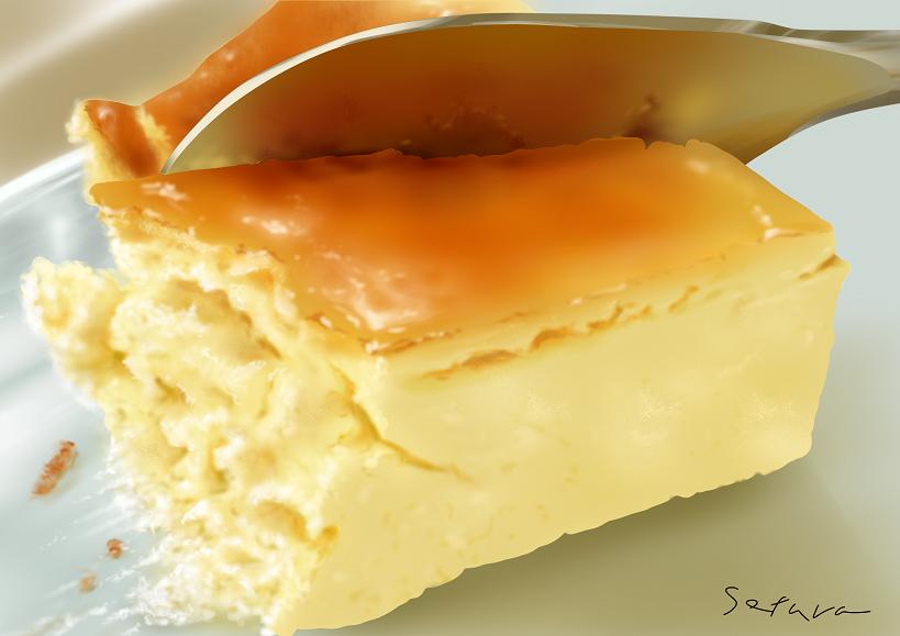 チーズケーキ(練習)