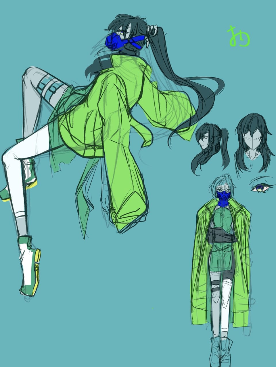 Illust of おり original girl medibangpaint doodle oc