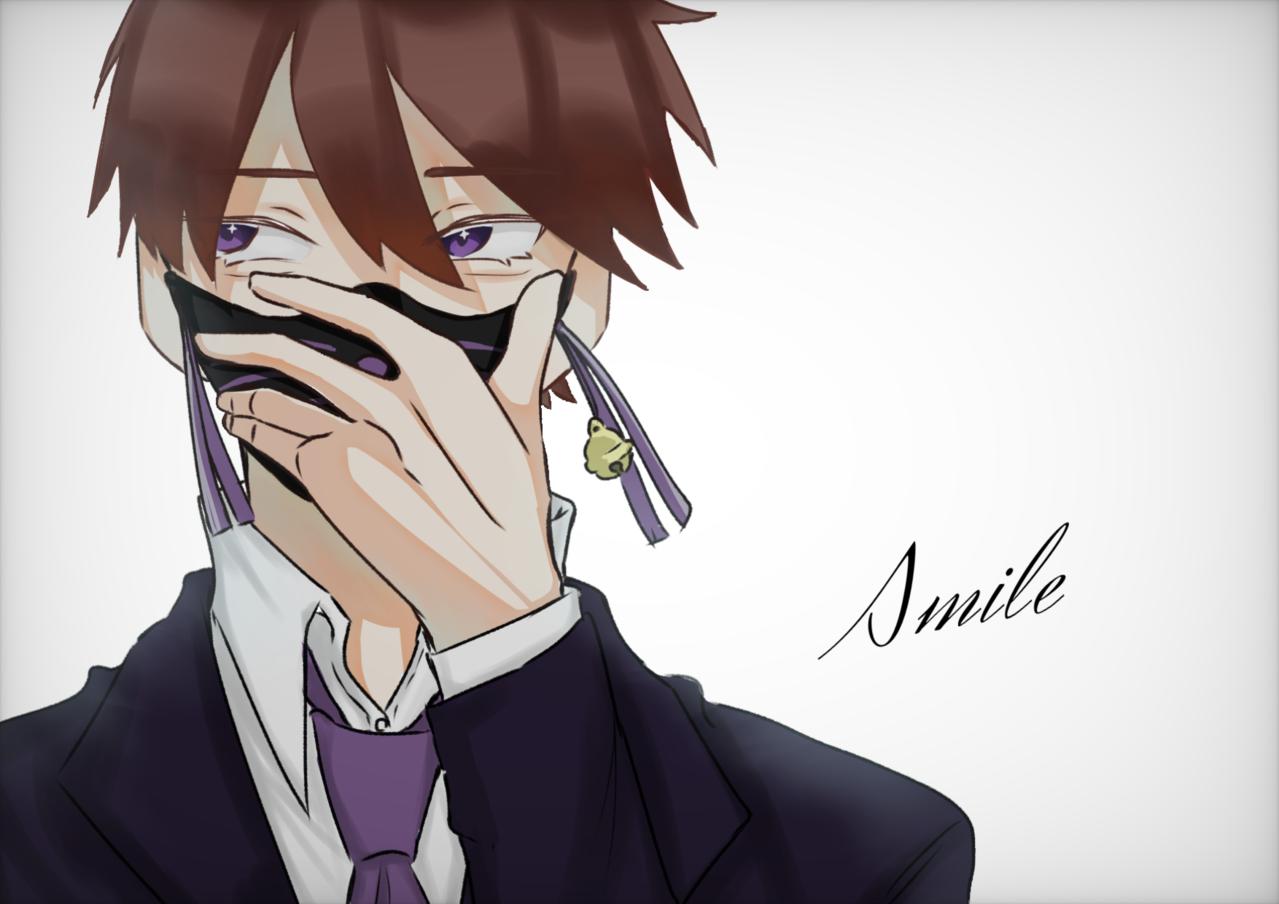 Smile    WT  (狐の面) Illust of 箱推し 低浮上中 ワイテルズ スマイル fox